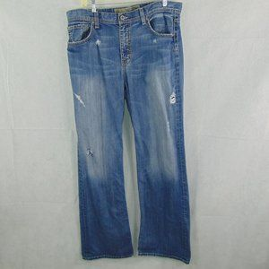BKE Tyler Men's Premium distressed jeans size 34